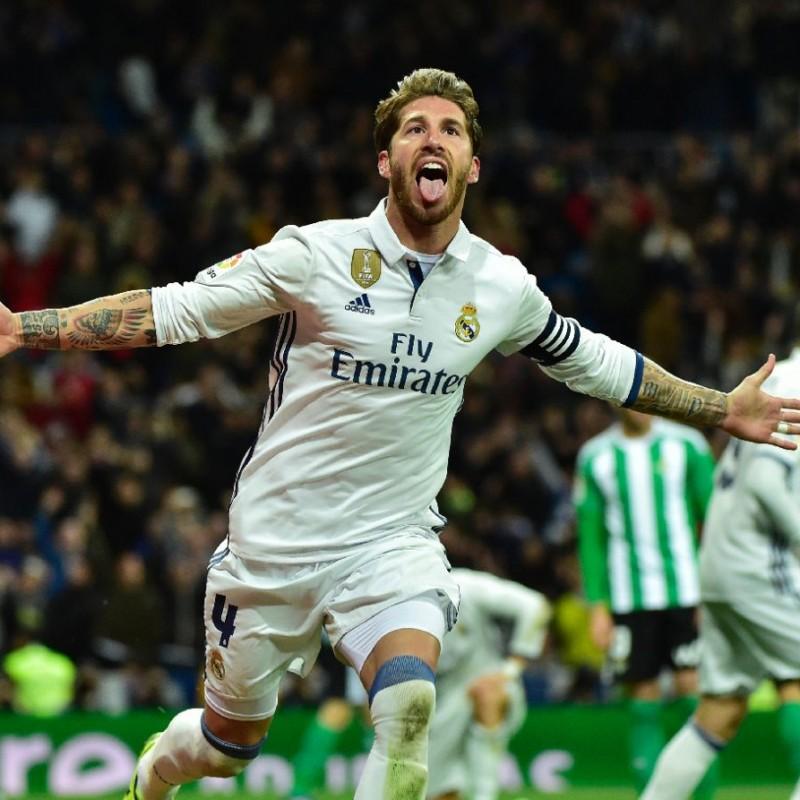 Signed Sergio Ramos 2016/17 Jersey