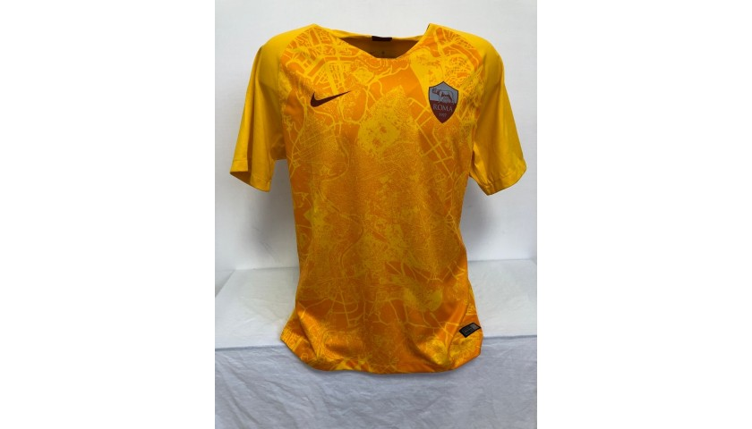 Zaniolo's Official Roma Signed Shirt, 2018/19