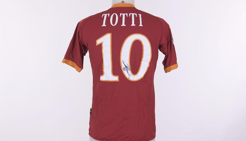 Francesco Totti's Signed Shirt, 2009/2010