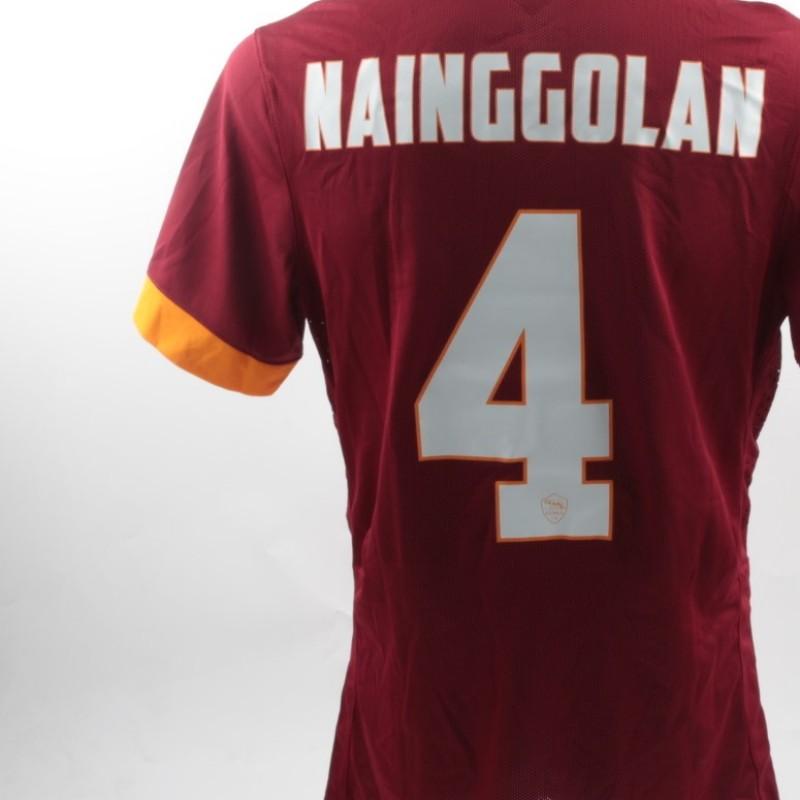 Radja Nainggolan match worn shirt Hellas Verona-Roma, Serie A 22.02.15