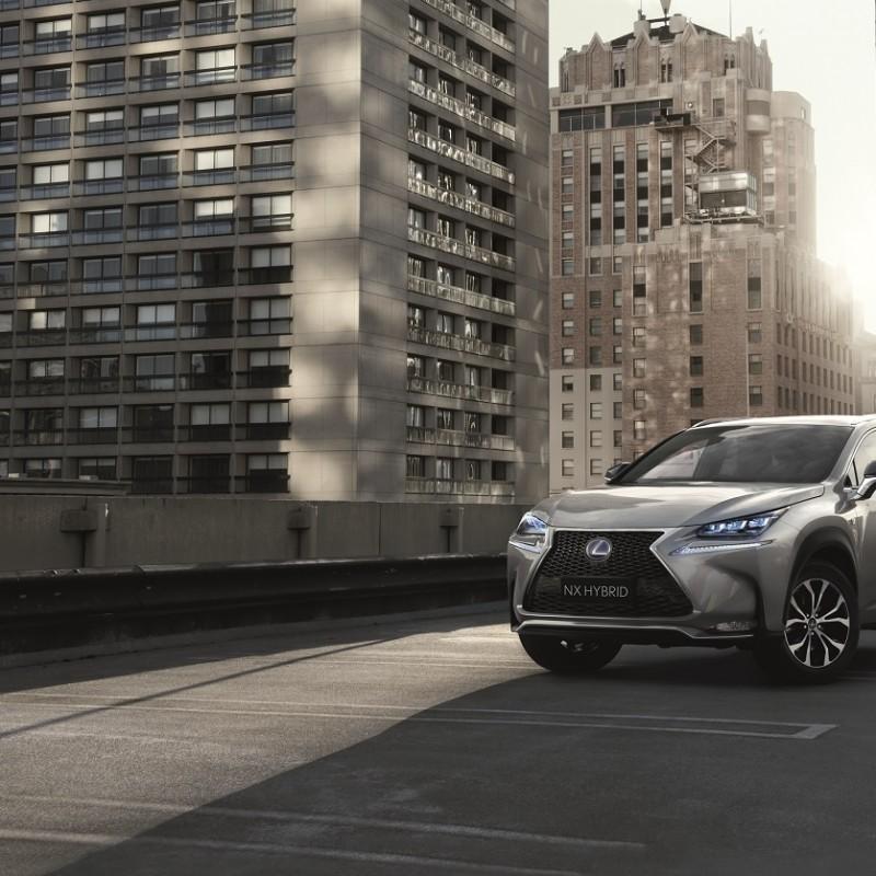 Drive a Lexus NX Hybrid F Sport for a month