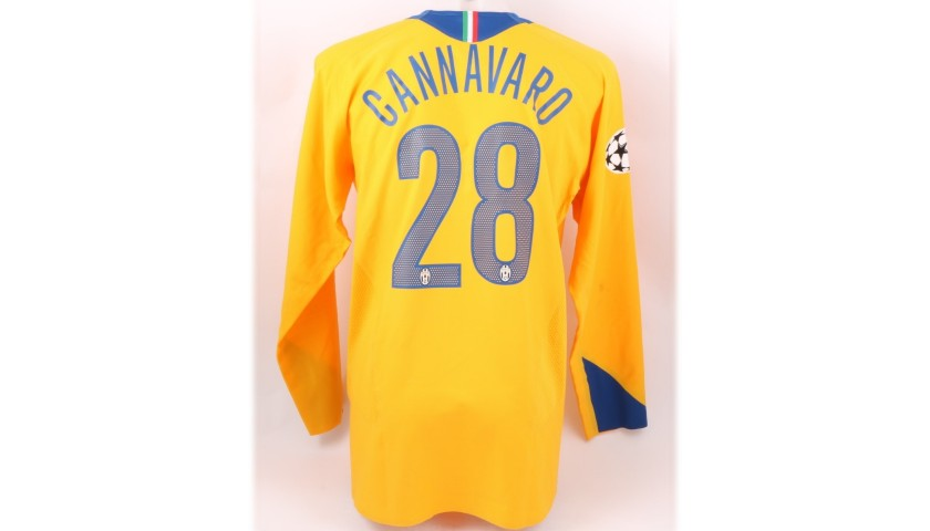 innovative design bf23e 32dad Cannavaro's Juventus Match Shirt, 2005/06 - CharityStars