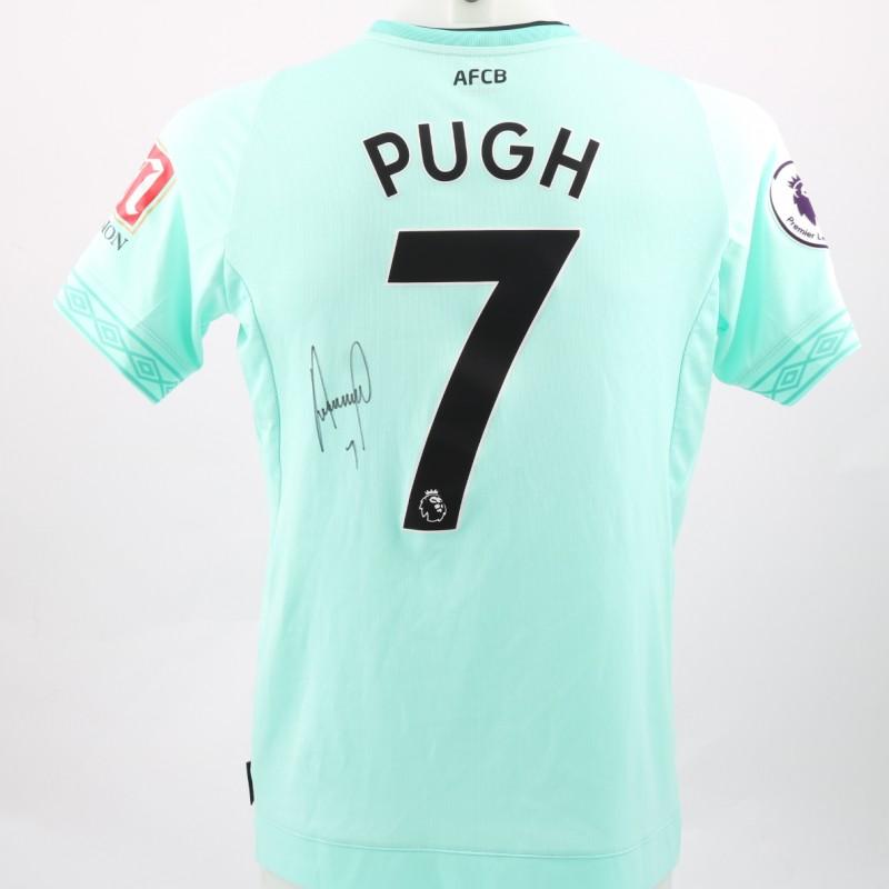 Pugh s AFC Bournemouth Worn and Signed Poppy Shirt e7a86ec18