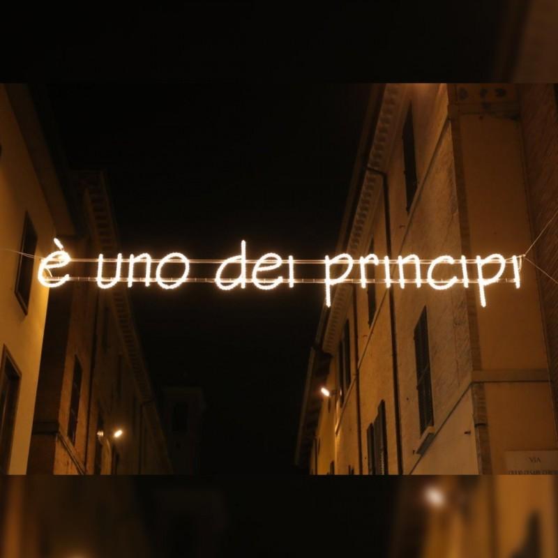 """É uno dei principi"" - Streetlight by Ayrton Senna"