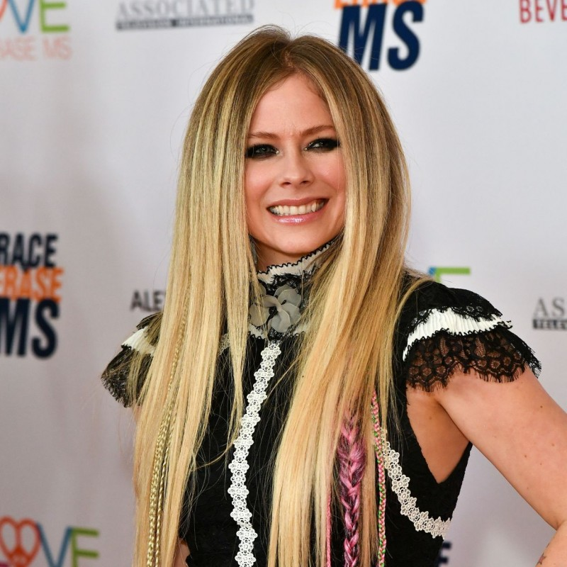 Avril's Alice & Olivia Dress