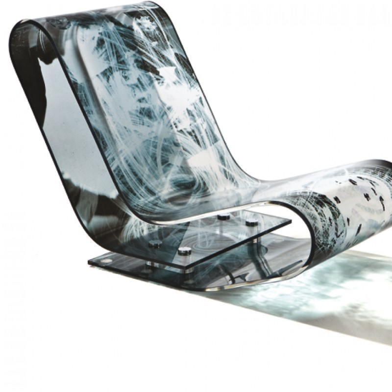 LCP chaise longue by Italo Rota fot Museo del 900 - Unique piece