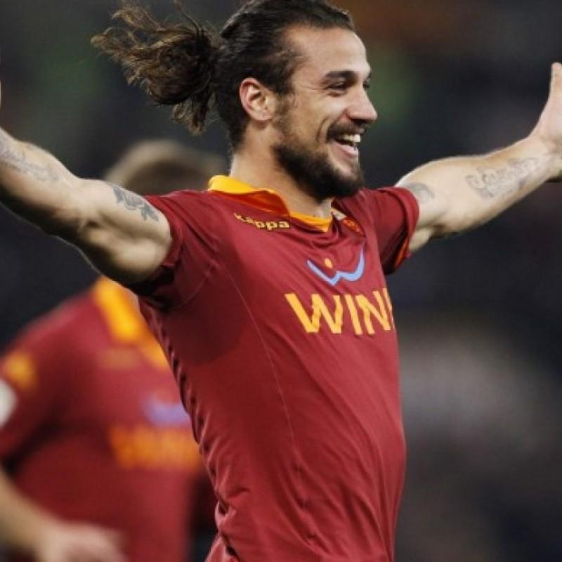 Osvaldo's Roma Match Shirt, TIM Cup 2012/13
