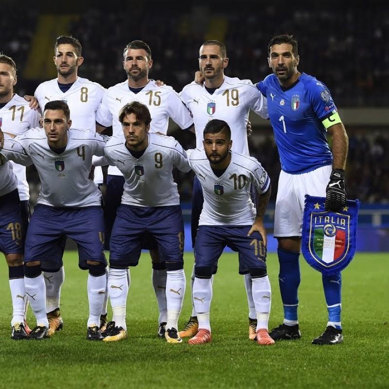 Donnarumma's Match Kit, Italy-Macedonia 2017