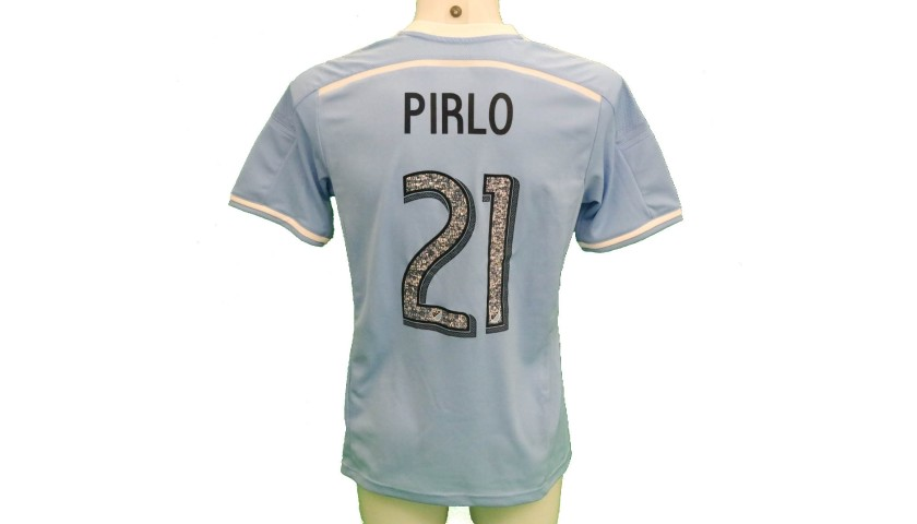 Pirlo's New York FC Match-Issue/Worn Shirt, 2015/16