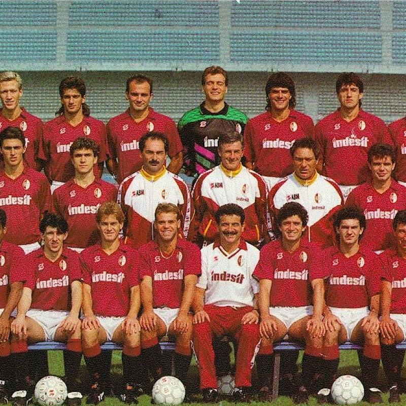 Torino No. 10 Match-Issued Shirt, 1990/91