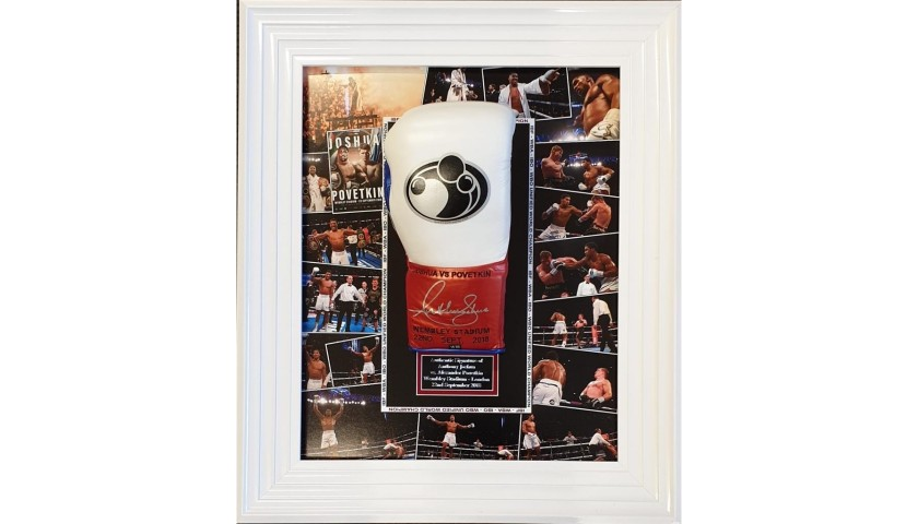 Anthony Joshua Signed Glove