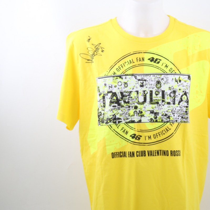Official Valentino Rossi Fan Club shirt (Men) - Signed