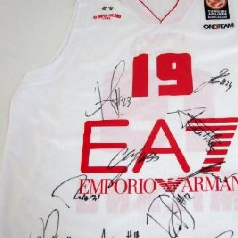 Olimpia Milano N°19 signed shirt