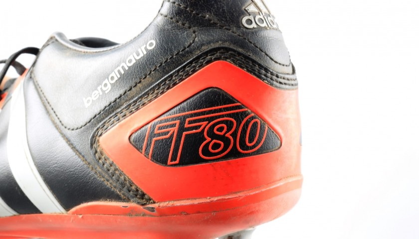 Adidas Boots Worn by Mauro Bergamasco, 2013/14