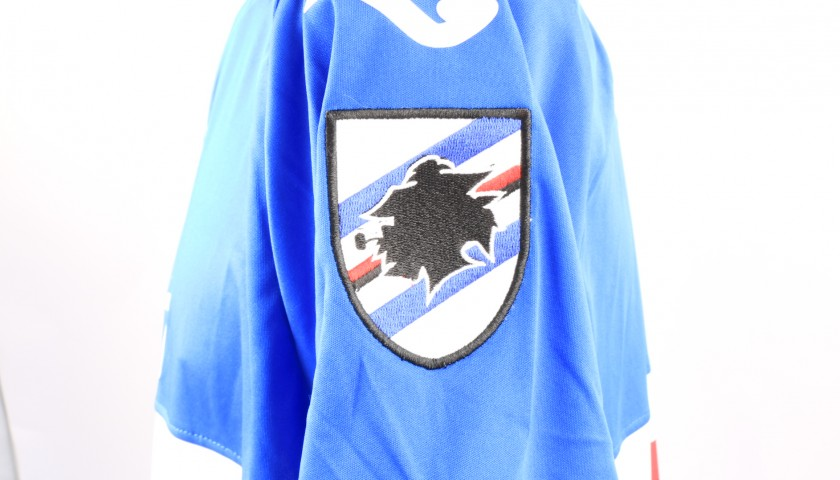 Andersen's Sampdoria Match-Issue Signed Shirt, 2018/19