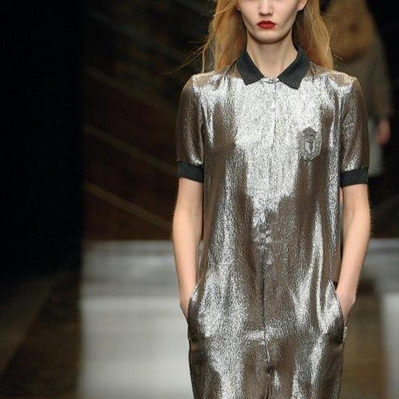 Attend the Trussardi Womenswear S/S Show during Milan Fashion Week