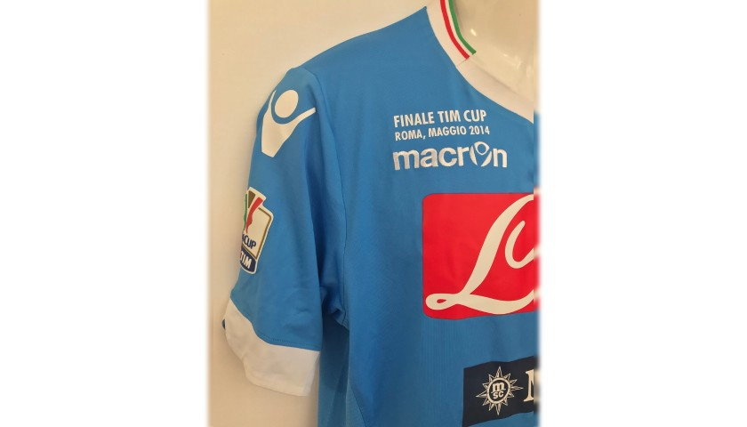 Higuain's Napoli Match Kit, TIM Cup Final 2014