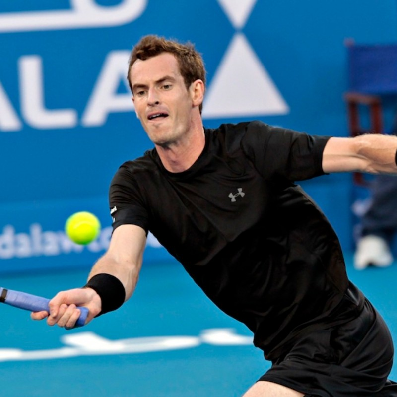 T-Shirt Under Armour - Autografata da Murray