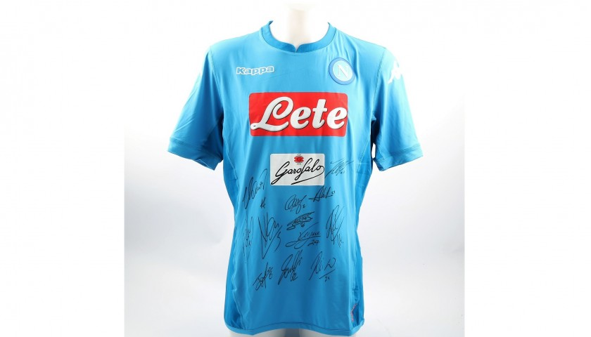 Official Napoli 2017/18 Signed Shirt