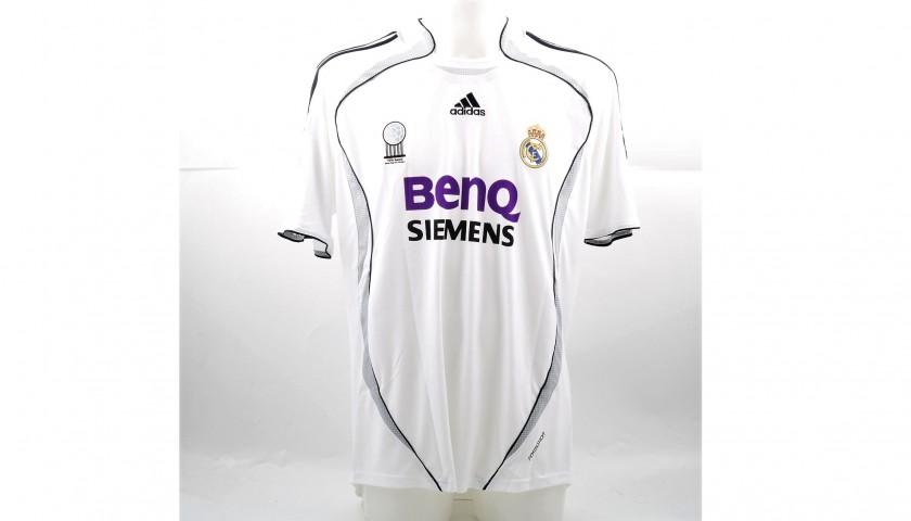 meet 13f41 c80d4 Ronaldo's Match-Issued/Worn Real Madrid Shirt, 2006/07 Liga - CharityStars