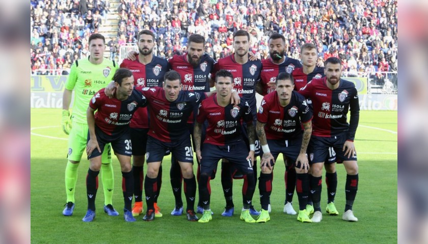 Cagliari Festive Shirt - Worn and Signed by Bradaric