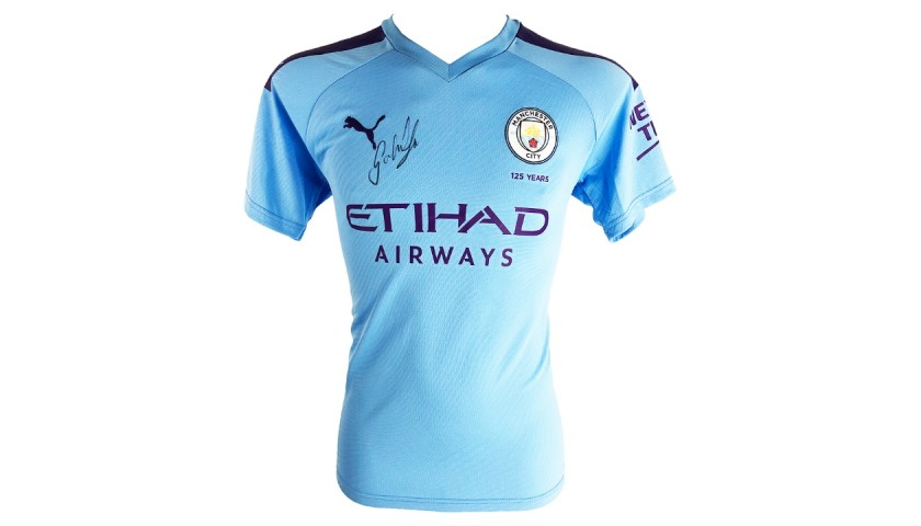 Gabriel Jesus Manchester City Shirt -  Signed