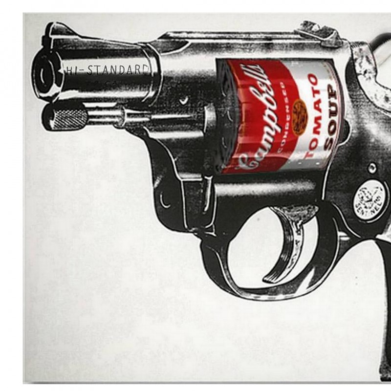 "T.Leone ""Omaggio a Warhol"" new media on Fine Art - 45x33.25 cm"