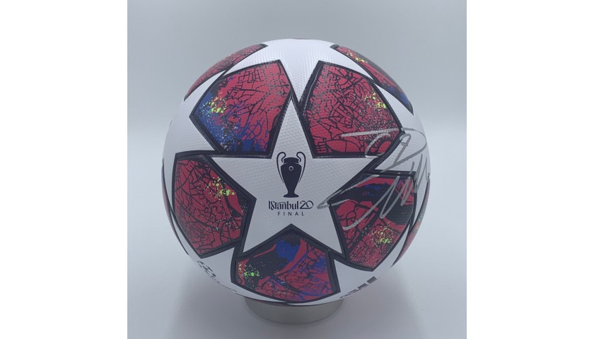 Official Football UCL Final 2020 - Signed by Ronaldo