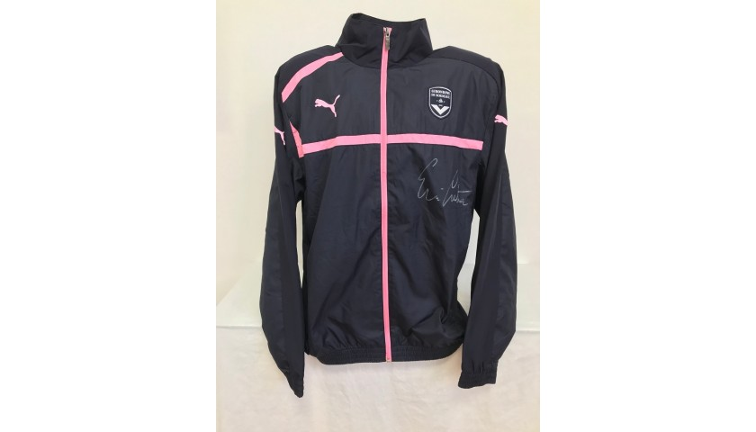 Official Bordeaux Track Jacket Signed by Cantona