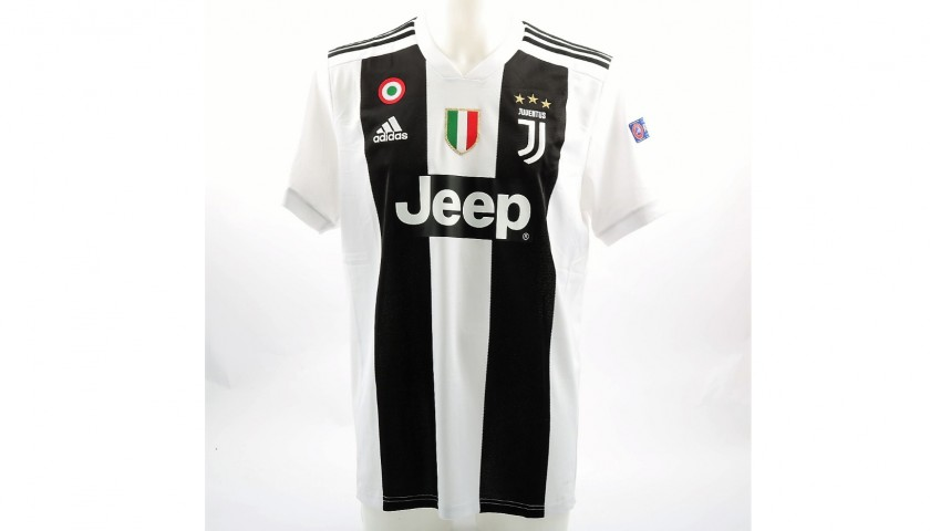various colors 1c835 ad2bc Ronaldo's Official Juventus 2018/19 Signed Shirt - CharityStars