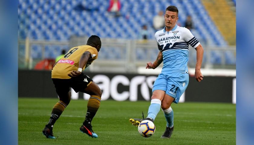 Sergej's Lazio Match Shorts, 2018/19 + Bib