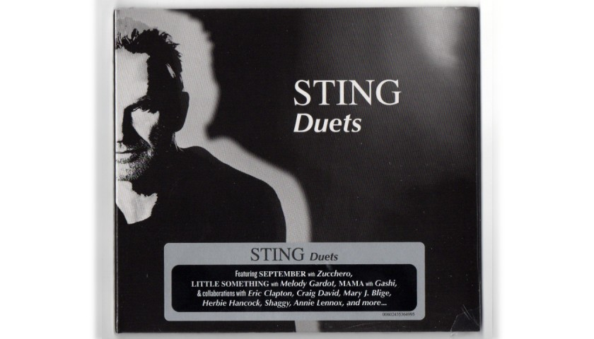 'Duets' CD by Sting + Signed Card