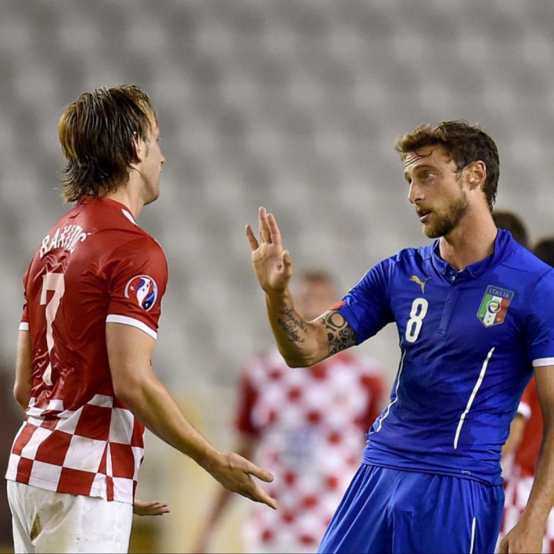 Marchisio's Match Shirt, Croatia-Italy 2015