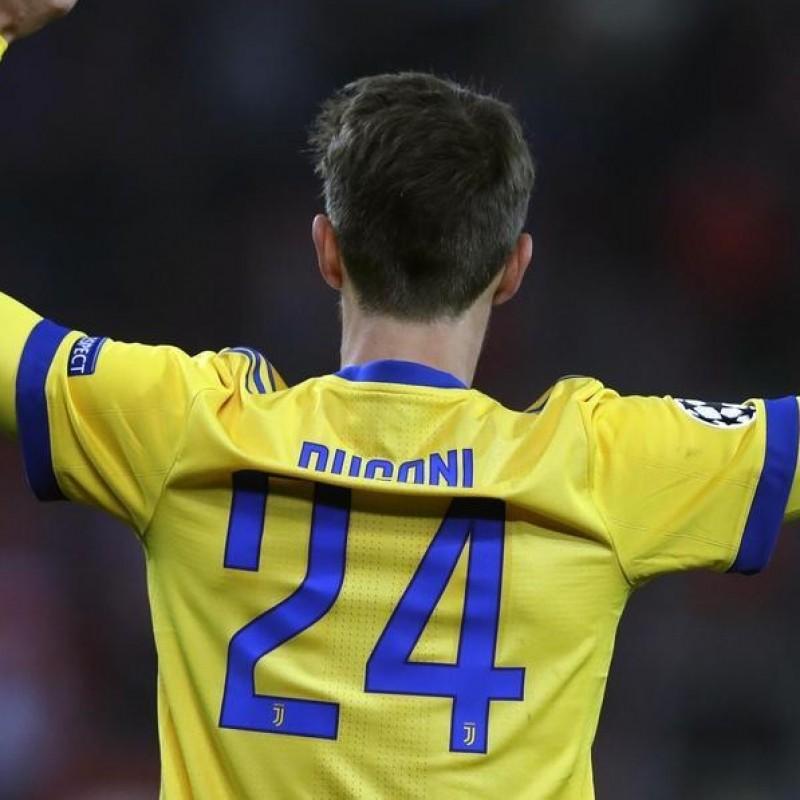 Rugani's Juventus Worn and Unwashed UCL 2017/18 Signed Shirt