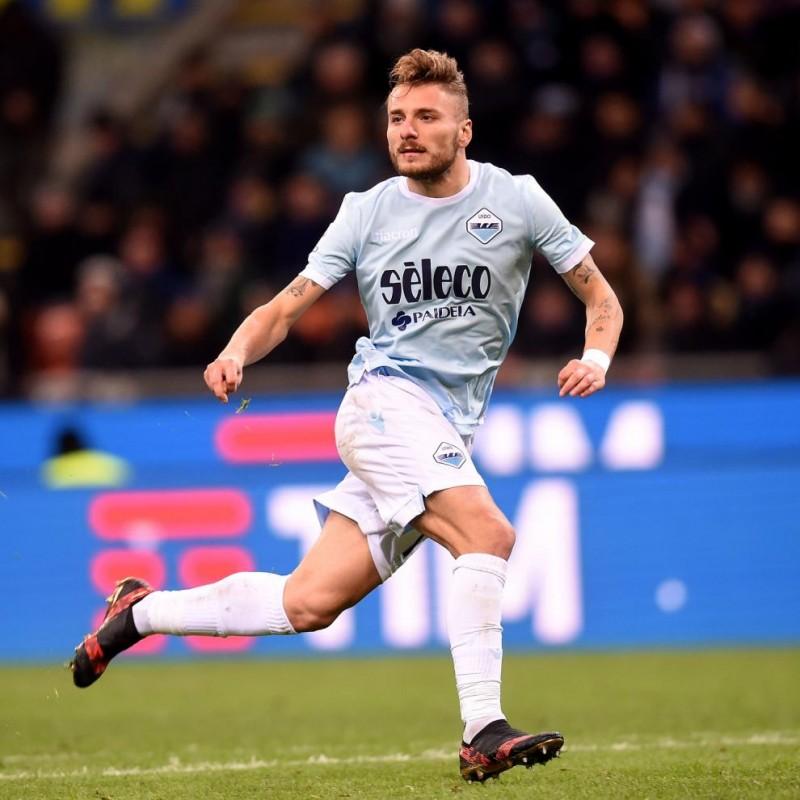 Immobile's Match Shirt, Inter-Lazio 2017