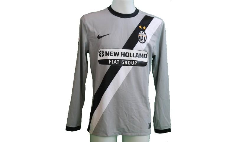 Diego's Juventus Match-Issue/Worn Shirt, 2009/10