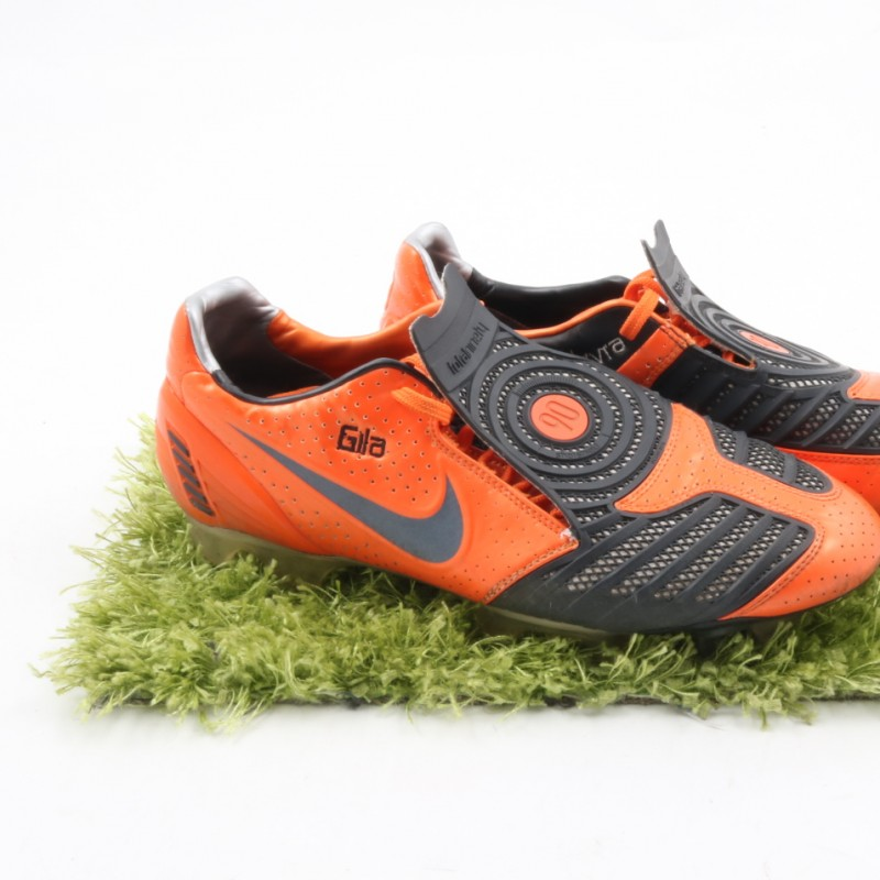 Gilardino Nike Worn Boots - Signed