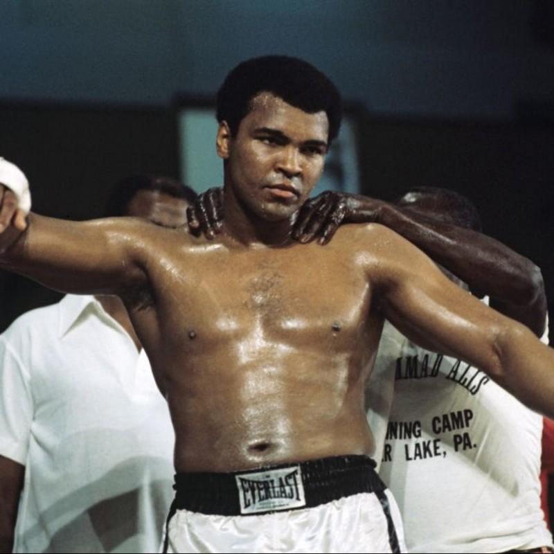Muhammad Ali Signed Boxing Glove
