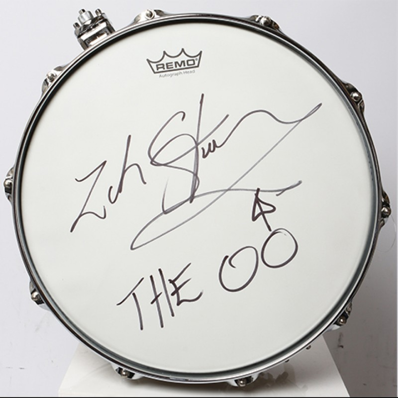 ZAK STARKEY - The Who Signed Snare Drum