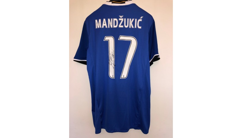 Mandzukic's Official Juventus Signed Shirt, 2016/17