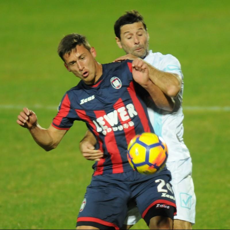 Tonev's Match-Worn Crotone-Chievo Shirt, Serie A 2017/18