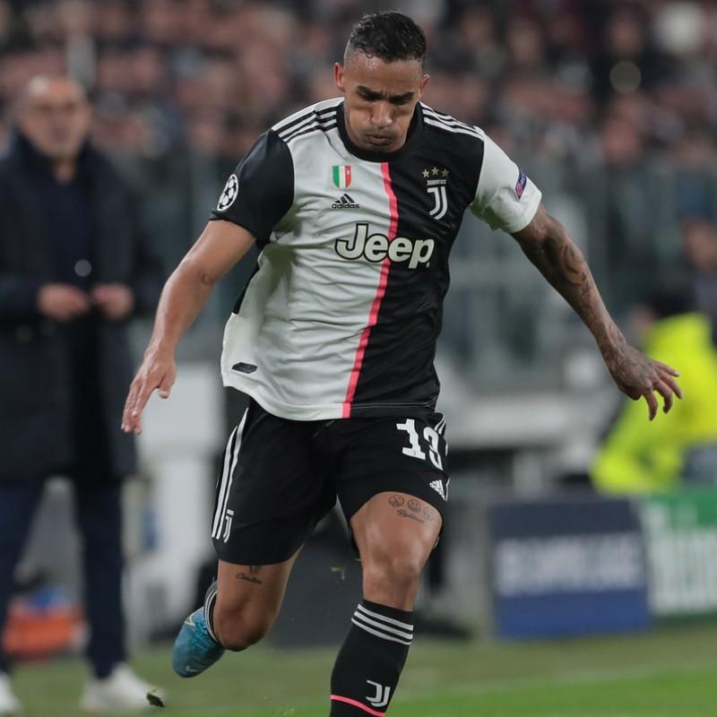 Danilo's Juventus Worn and Unwashed Shirt, UCL 2019/20