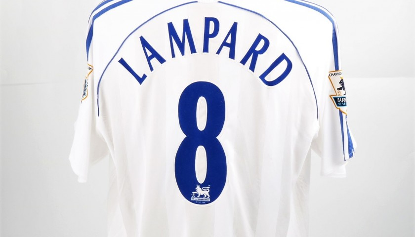 san francisco 073a5 78077 Lampard Chelsea Issued/Worn Shirt, PL 2006/07 - CharityStars