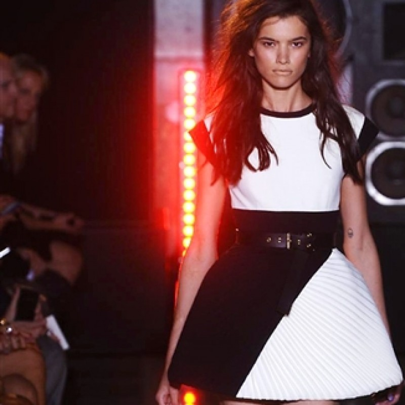 Panier dress realized by Fausto Puglisi