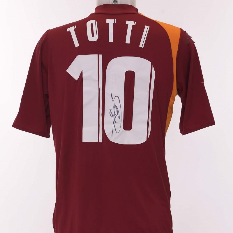 da9410c8e Francesco Totti s AS Roma Signed Shirt