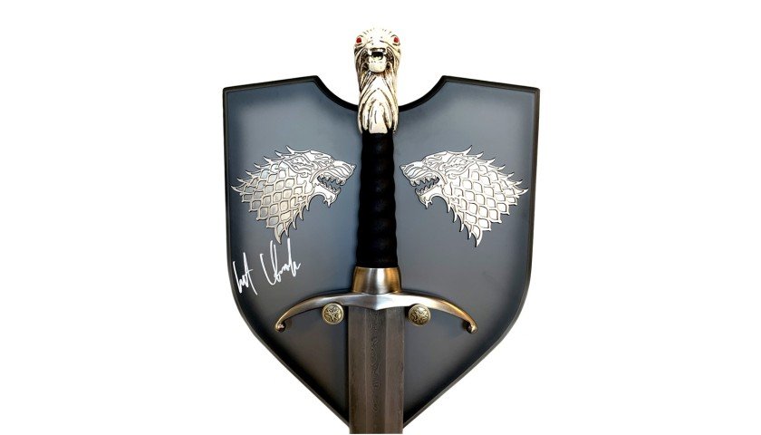 Kit Harrington Signed Longclaw King in The North Edition