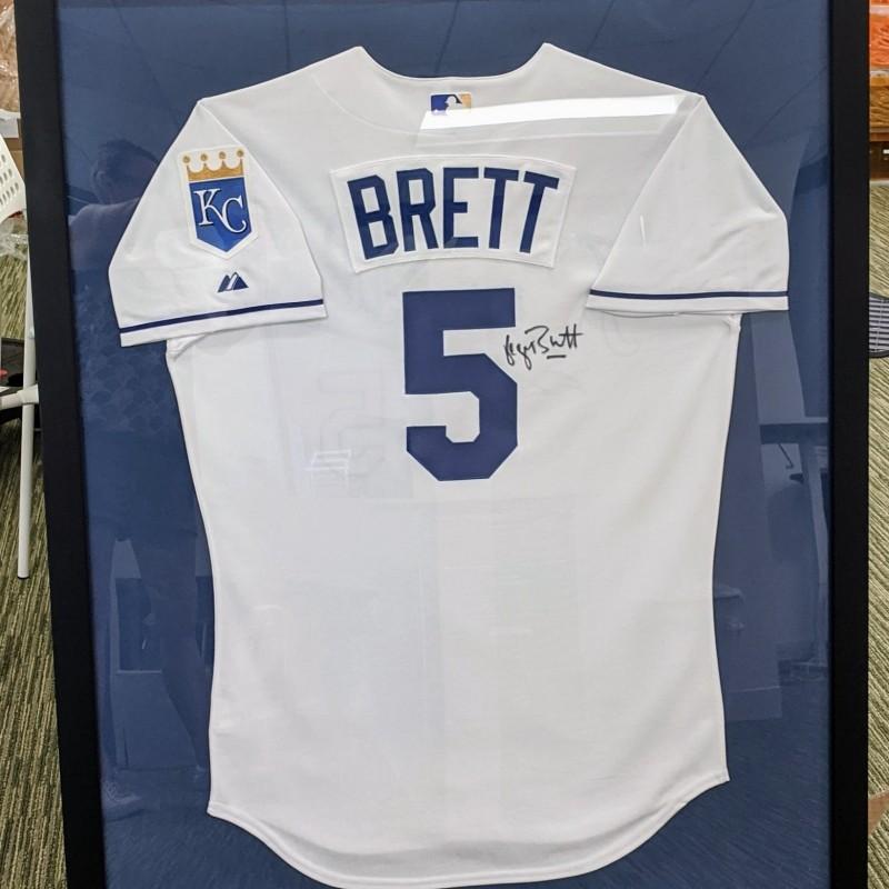 George Brett Signed KC Royals Jersey