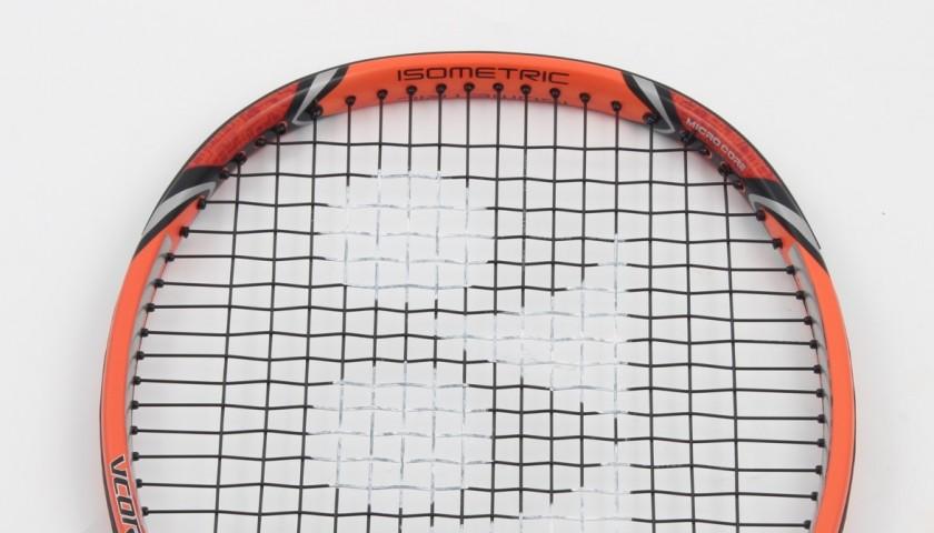 Original Yonex racket, signed by Stan Wawrinka