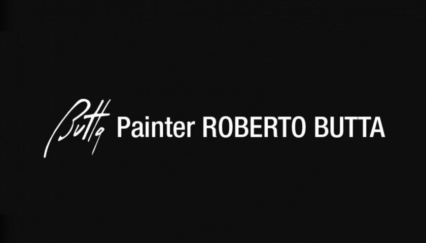 """""""Pescarenico Notturno con Neve"""" by Roberto Butta"""