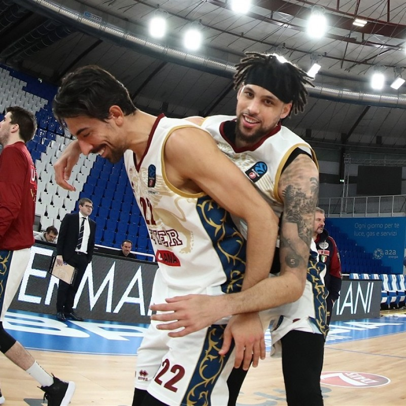 Reyer Venezia's Match Jersey, Eurocup 2020/21 - Signed by the players